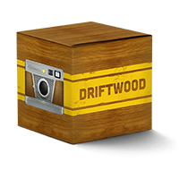 Package case driftwood